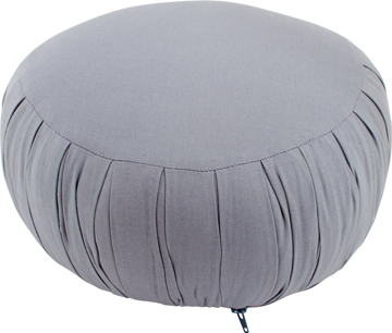 Bild på Meditationskudde: rund (grå)