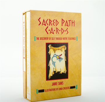 Bild på Sacred Path Cards (Booklet + 44 card deck)