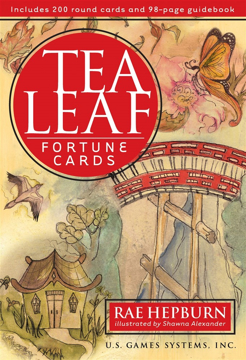 Bild på Tea Leaf Fortune Cards (Book & 200 Round Cards)