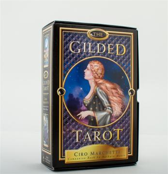 Bild på The Gilded Tarot : 78-Card Tarot Deck and Book