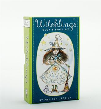 Bild på Witchlings Deck & Book Set (40-card deck & 204-page book)