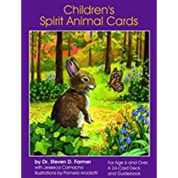 Bild på Children's Spirit Animal Cards (24 Cards & Guidebook)