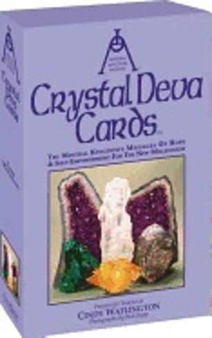 Bild på Crystal Deva Cards: The Mineral Kingdom's Messages...New Mil