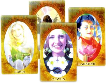 Bild på Gudinnans Kraft :  Orakelkort för insikt och vägledning