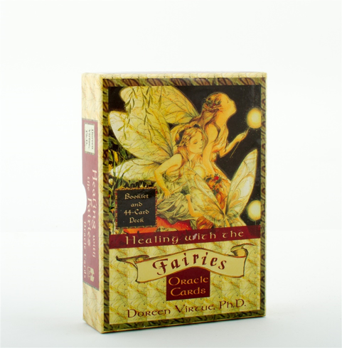 Bild på Healing with the fairies oracle cards - heal your life with help from the f