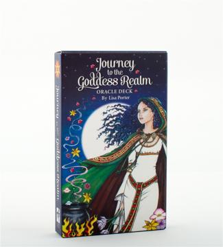 Bild på Journey to the Goddess Realm Oracle Deck