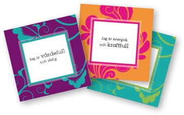 Bild på Affirmationskort