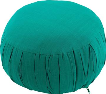 Bild på Meditationskudde: rund (grön)
