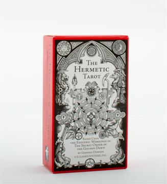 Bild på The Hermetic Tarot Deck