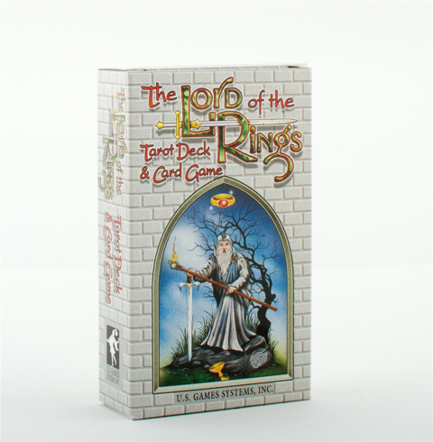 Bild på The Lord of the Rings Tarot Deck & Card Game (78 cards)