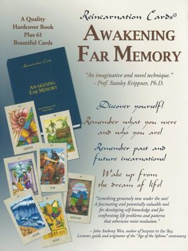 Bild på Reincarnation Cards: Awakening Far Memory (61 Cards & Hardcover Book)