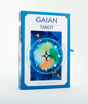 Bild på Gaian Tarot: Healing the Earth, Healing Ourselves