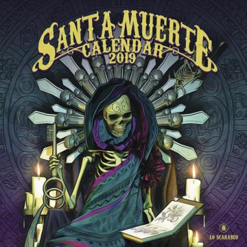 Bild på Santa Muerte Calendar 2019