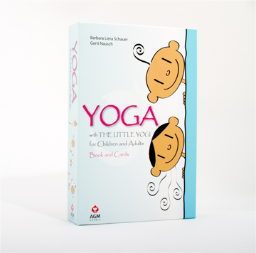 Bild på Little Yogi Cards & Book Set