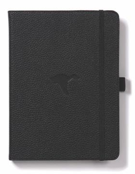 Bild på Dingbats* Wildlife A5+ Black Duck Notebook - Graph