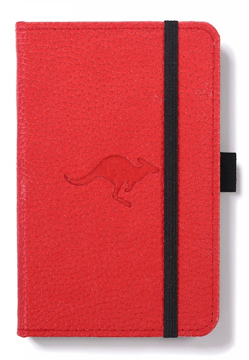 Bild på Dingbats* Wildlife A6 Pocket Red Kangaroo Notebook - Dotted