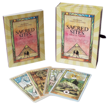 Bild på Sacred sites oracle cards: harness our earths spiritual energy to heal - ha