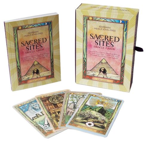 Bild på Sacred sites oracle cards: harness our earths spiritual energy to heal - ha