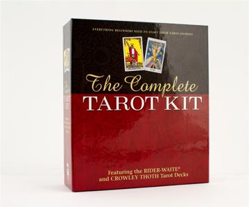 Bild på Complete Tarot Kit (Rider Deck, Thoth Deck, Book, Journal, Spread Sheet, Chart, Carrying Case)