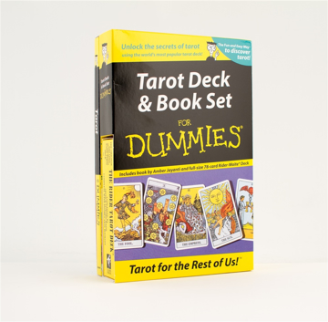 Bild på Tarot Deck And Book Set For Dummies (Book And Rider-Waite Deck)