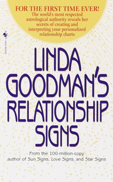 Bild på Linda Goodman's Relationship Signs