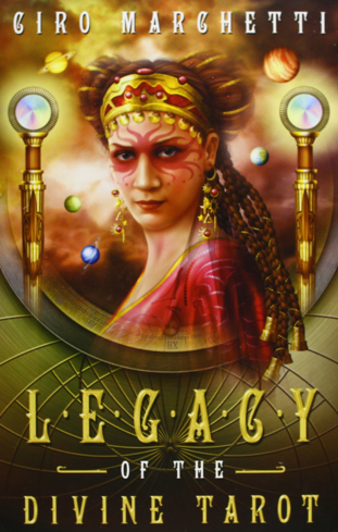 Bild på Legacy Of The Divine Tarot (78-Card Deck & guidebook)