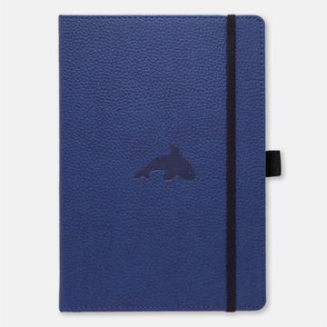 Bild på Dingbats* Wildlife A4+ Blue Whale Notebook - Graph