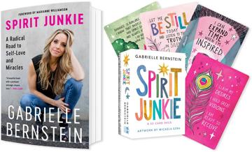 Bild på Paketpris Spirit Junkie book (en) +deck (en)