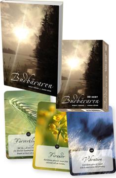 Bild på Budbäraren Paket - Bok och healingkort