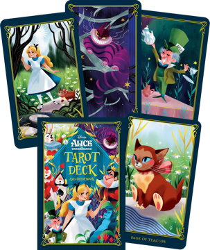 Bild på Alice in Wonderland Tarot Deck and Guidebook